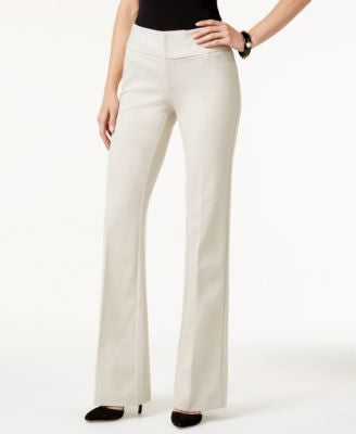 INC International Concepts Wide-Leg Ponte Pants, Only at Vogily