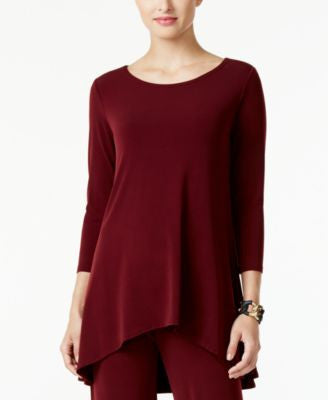 Alfani High-Low Jersey Tunic Top, Only at Vogily