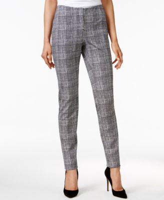 Alfani Petite Printed Straight-Leg Pants, Only at Vogily