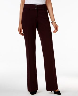 Alfani Two-Button Curvy-Fit Pants, Only at Vogily