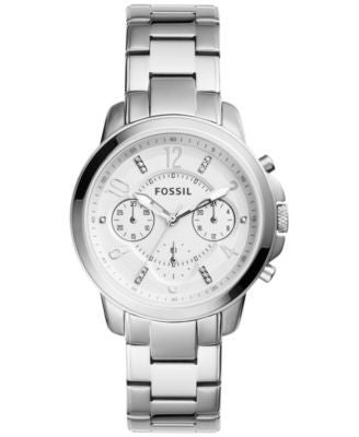 Fossil Women's Chronograph Gwynn Stainless Steel Bracelet Watch 38mm ES4036