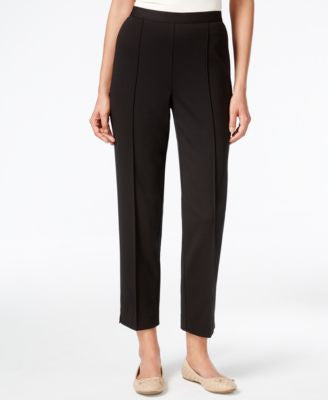 Alfred Dunner Madison Park Collection Pull-On Slim-Leg Ankle Pants