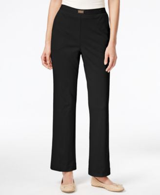 Alfred Dunner Petite Madison Park Pull-On Pants