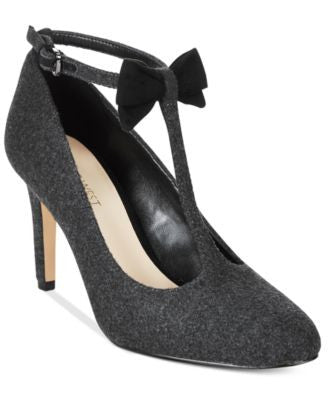 Nine West Hollison T-Strap Bow Pumps