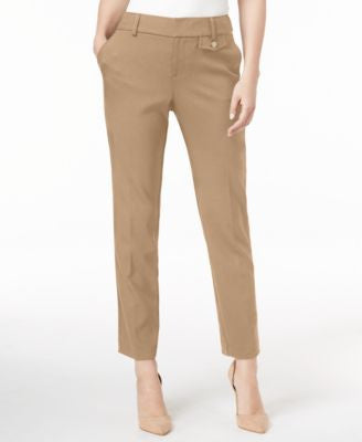 Charter Club Slim-Leg Cropped Pants, Only at Vogily