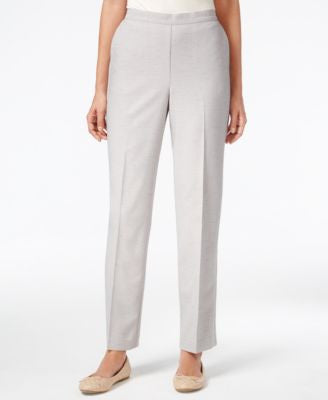 Alfred Dunner Pull-On Straight-Leg Pants