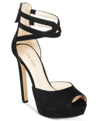 Nine West Voretta Two-Piece Platform Pumps