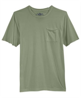 American Rag Men's Raw-Edge Pocket T-Shirt, Only at Vogily