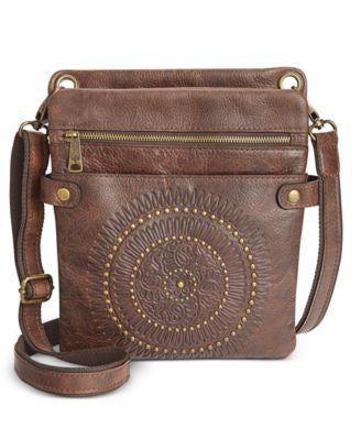 Patricia Nash Distressed Vintage Francesca Crossbody