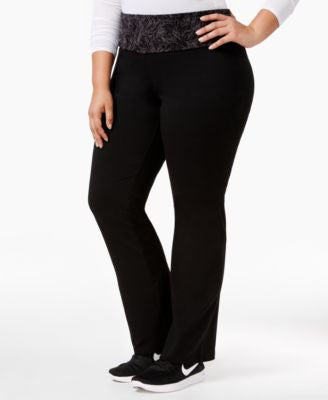 Style & Co. Plus Size Tummy-Control Yoga Pants, Only at Vogily