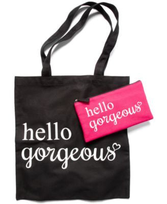 Receive a FREE Tote Bag & Pencil Case with any $75 online beauty purchase