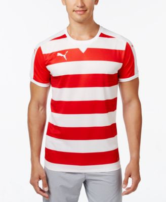 Puma Men's Striped Soccer Jersey