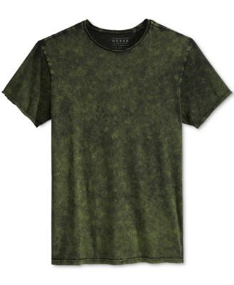 GUESS Men's Gunnarson Mineral-Wash T-Shirt