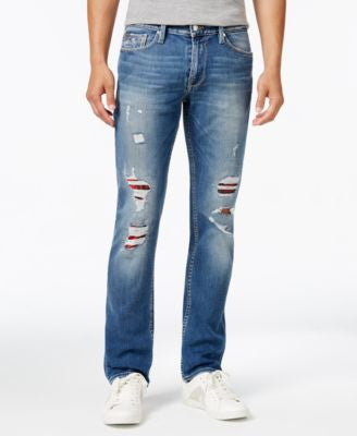 GUESS Men's Slim-Fit Straight-Leg Jeans