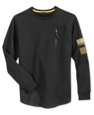 Sean John Men's Long-Sleeve Zip-Pocket Sweatshirt