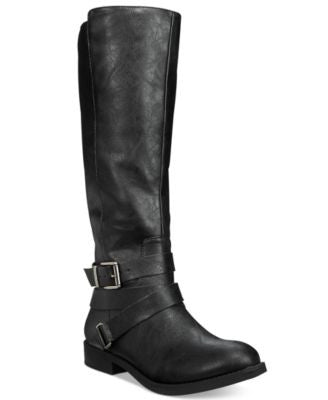Style & Co. Lolah Wide Calf Boots, Only at Vogily