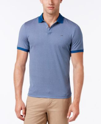 Michael Kors Men's Geo-Print Polo