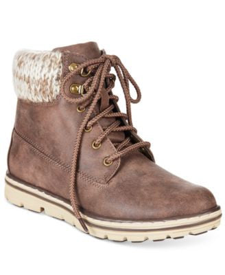 Cliffs by White Mountain Kansas Lace-Up Booties