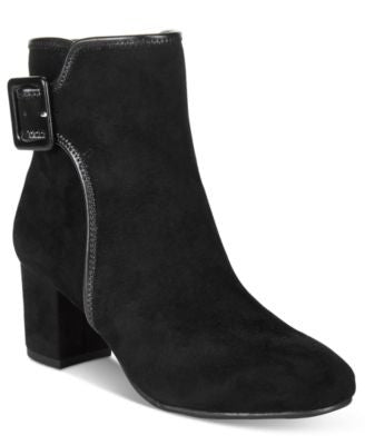 White Mountain Callaway Block-Heel Booties
