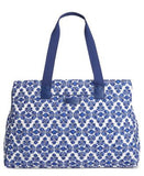 Vera Bradley Triple Compartment Signature Travel Bag