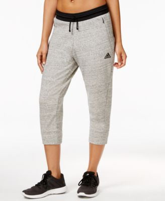 adidas Fleece Cropped Sweatpants