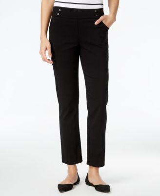 Style & Co. Slim-Fit Ankle Pants, Only at Vogily