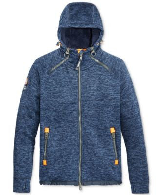 Superdry Men's Storm Double Zip Hoodie