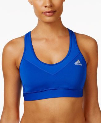 adidas Techfit Molded Cup Compression ClimaCool® Mid-Impact Sports Bra