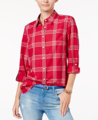 Tommy Hilfiger Louise Plaid Shirt