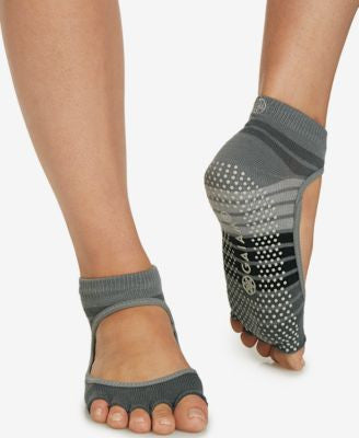 Gaiam Mary Jane Striped Yoga Socks