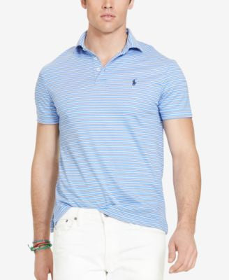 Polo Ralph Lauren Big and Tall Striped Pima Soft-Touch Shirt