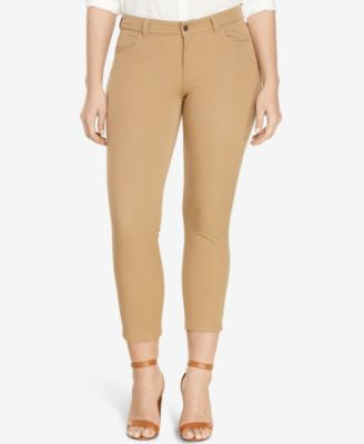 Lauren Ralph Lauren Plus Size Stretch Twill Skinny Pants