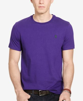 Polo Ralph Lauren Men's Custom-Fit Jersey T-Shirt