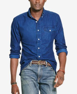 Polo Ralph Lauren Men's Indigo Chambray Shirt