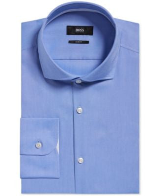 BOSS Men's Slim-Fit Oxford Dress Shirt