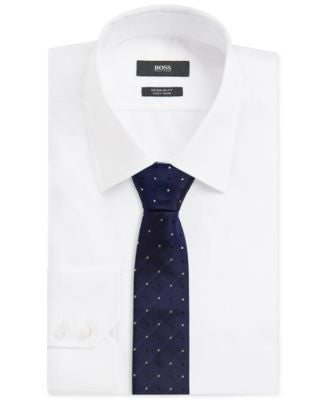 BOSS Men's Silk Dotted Tie