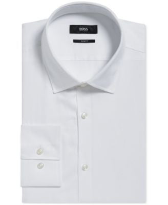 BOSS Men's Slim-Fit Italian Dress Shirt