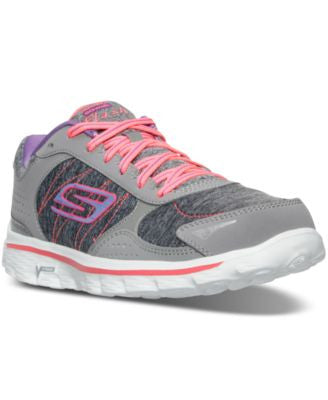 Skechers Women's Go Walk 2 - Flash Running Shoes from Finish Line