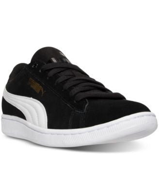 Puma Women's Vikky Canvas Casual Sneakers from Finish Line