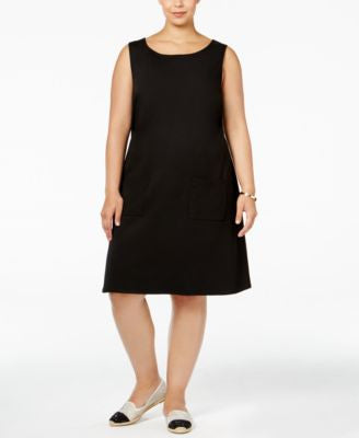 Love Squared Trendy Plus Size Shift Dress