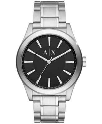 A|X Armani Exchange Men's Nico Stainless Steel Bracelet Watch 44mm AX2320