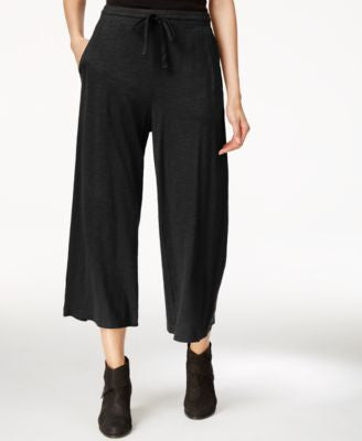 Eileen Fisher Cropped Wide-Leg Pants