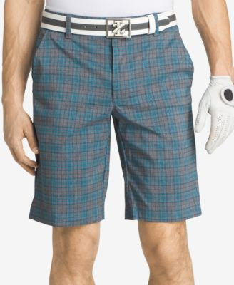 IZOD Men's Plaid Golf Shorts