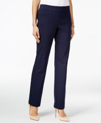JM Collection Pull-On Slim-Leg Pants, Only at Vogily