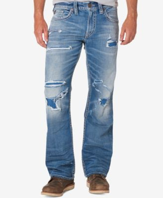 Silver Jeans Co. Men's Relaxed-Fit Zac Jeans