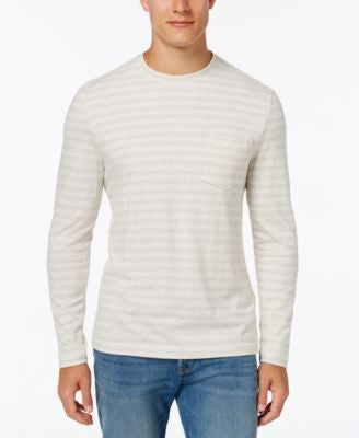 Club Room Men's Striped Long-Sleeve Shirt