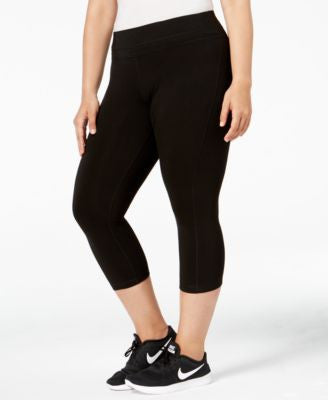 Ideology Plus Size Cropped Legging