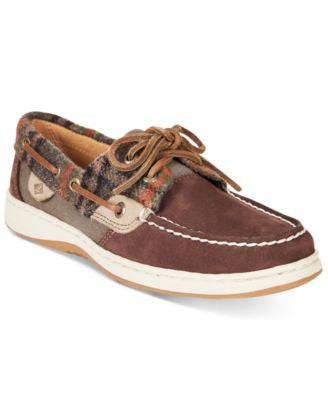 Sperry Women's Bluefish Linen Oat Boat Shoes