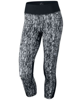 Nike Racer Dri-FIT Printed Capri Leggings