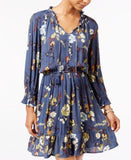 American Rag Ruffled Floral-Print Fit & Flare Dress, Only at Vogily